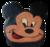 Mickey mouse taart (vanaf 14 personen)